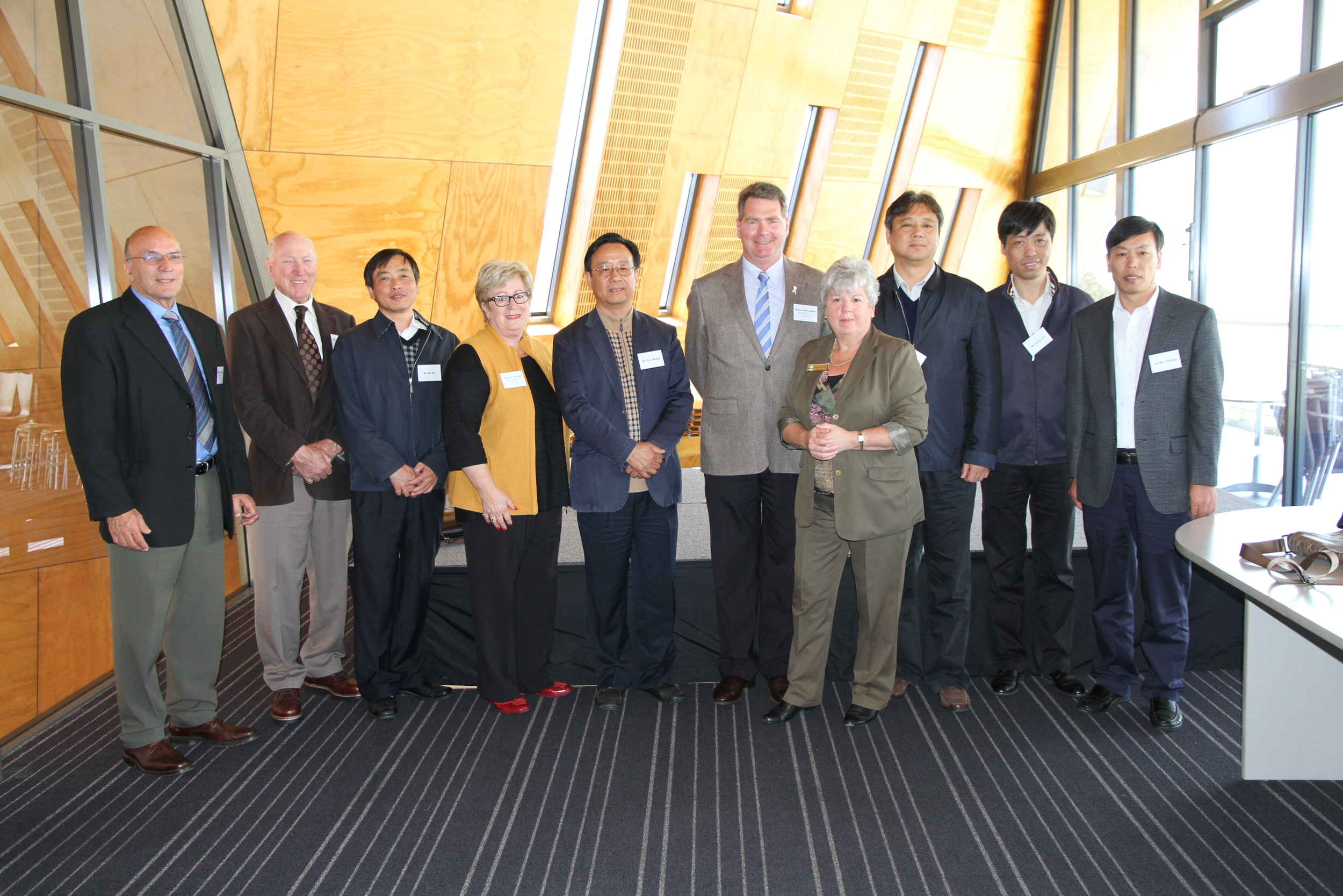 Chinese Chongming Delegation Oct 2014.JPG