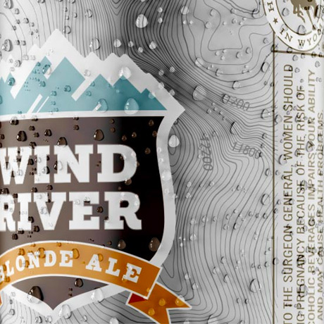 Wind River Brewing   Product Package Design