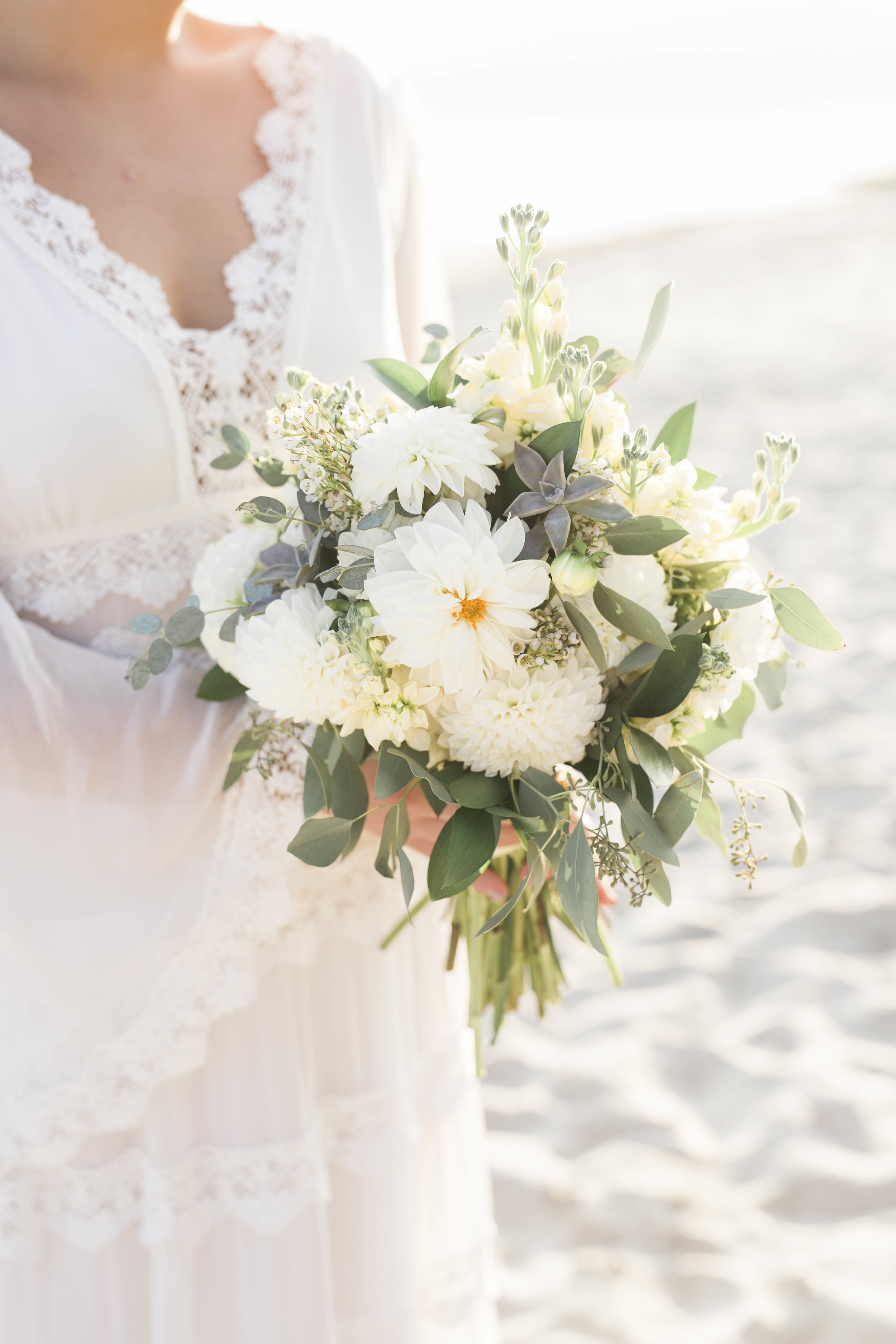 Stunning bouquet by Calabash Florist & Company!