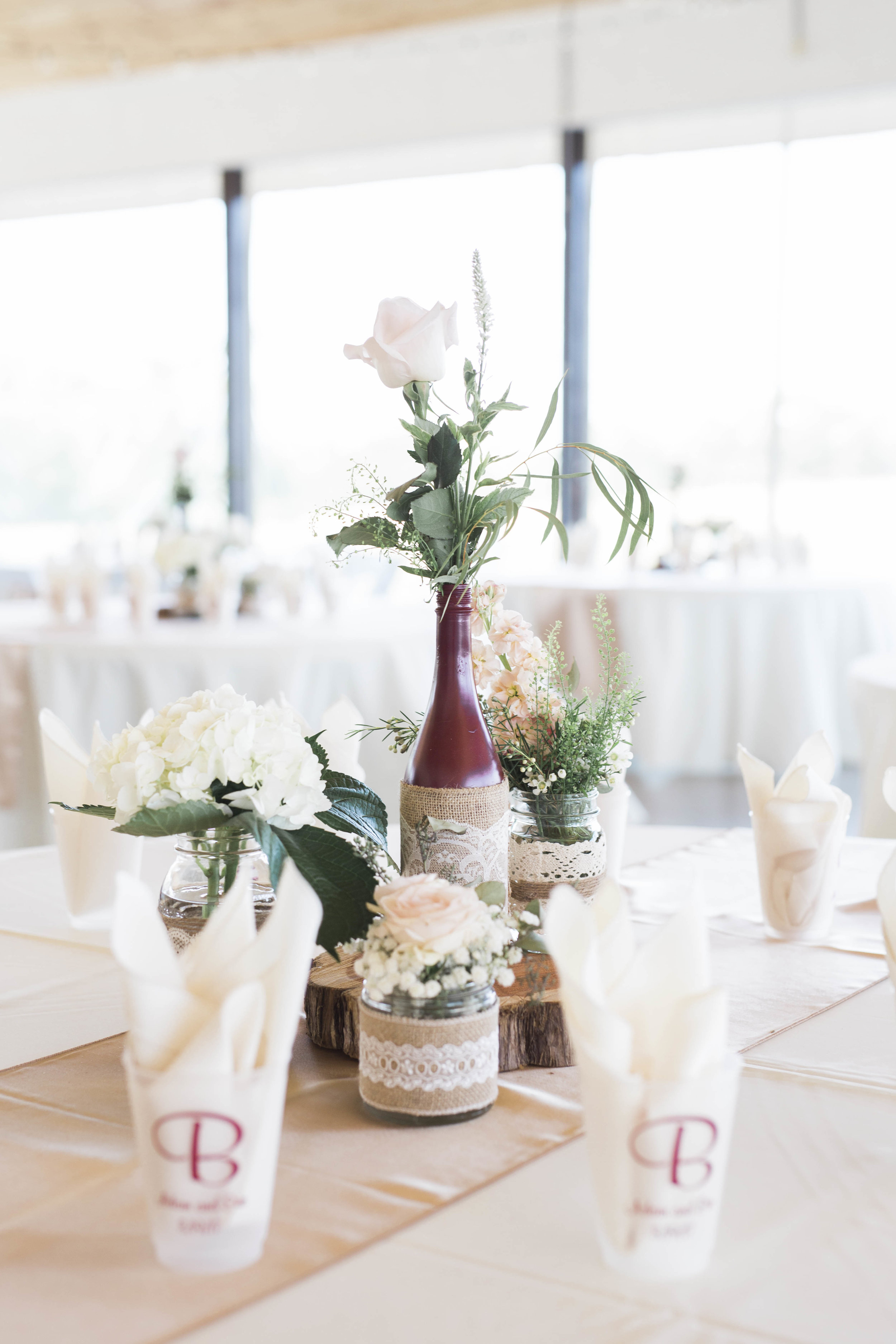 Beautiful florals and styling by Judy Pour at The Pour Vineyard!