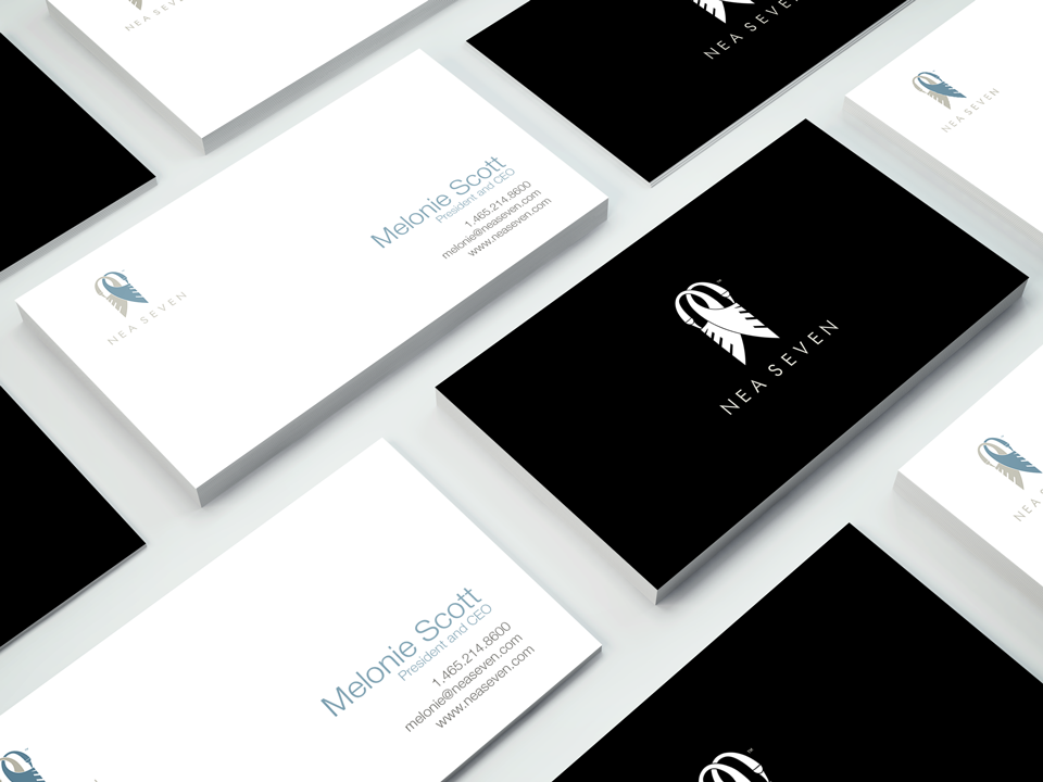 Nea Seven Business Cards