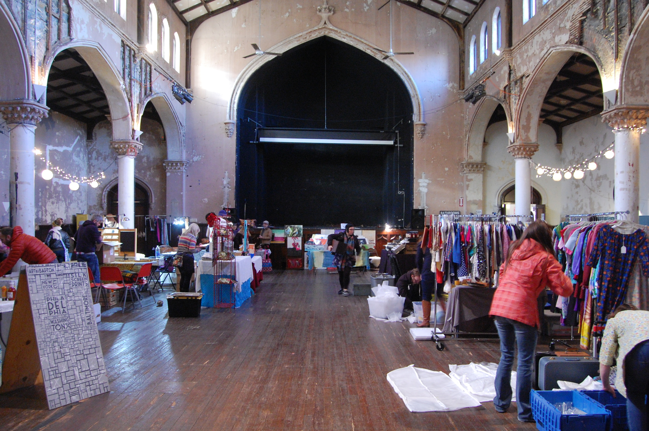 Charm City Flea Market, 2640 St. Paul Street