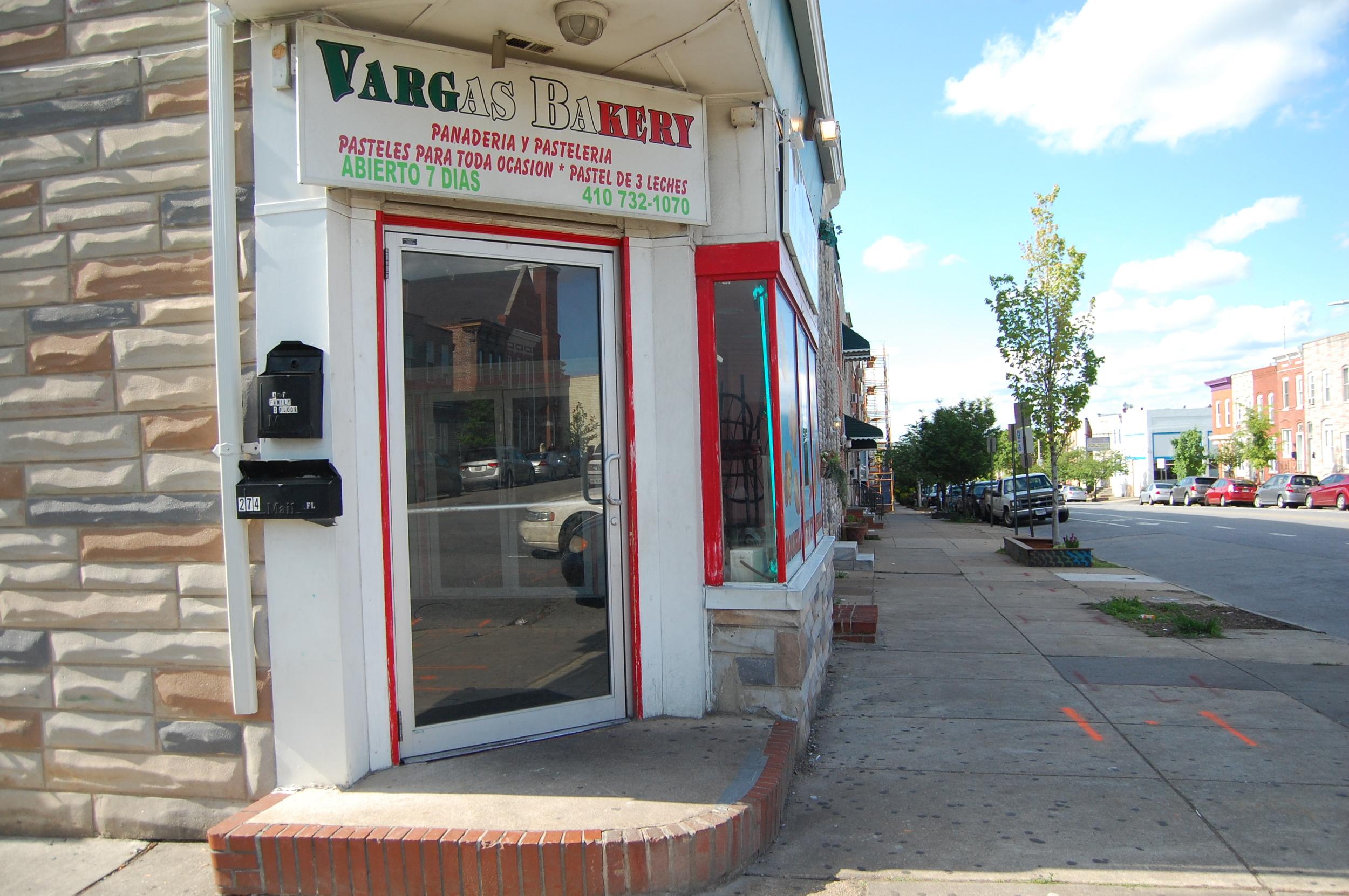 Vargas Bakery in Highlandtown
