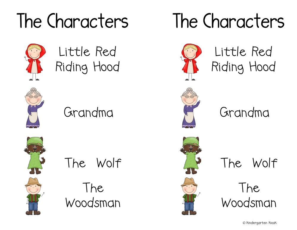 Little Red Riding Hood Reader S Theater Or Partner Play