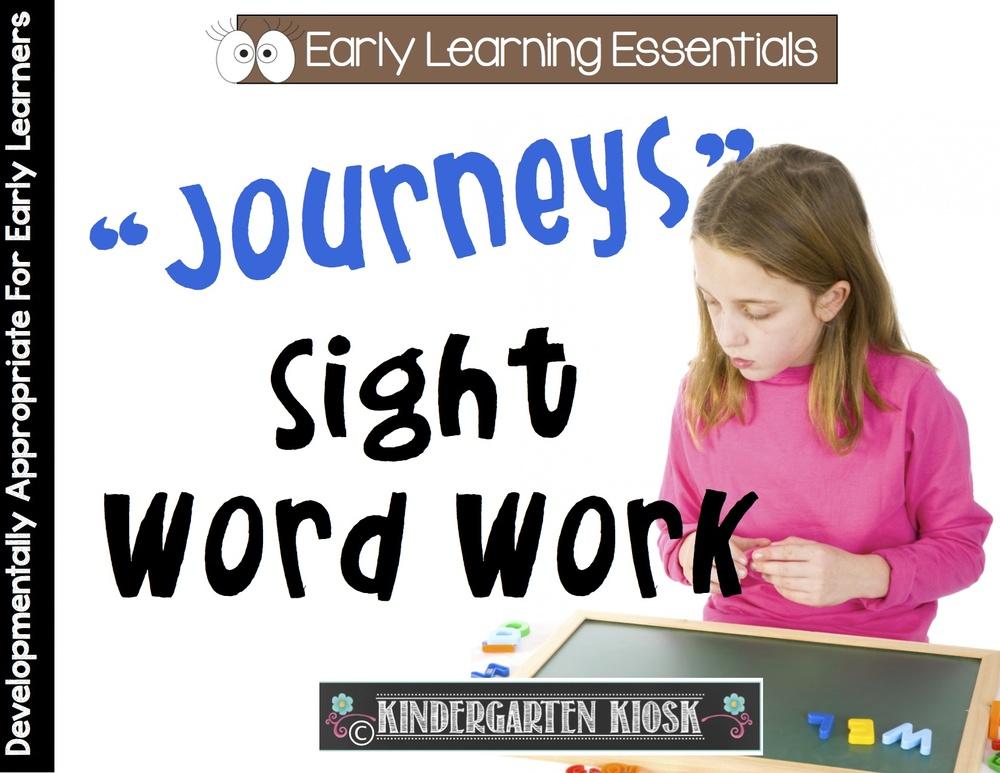Sight Word Work: Journeys Reading