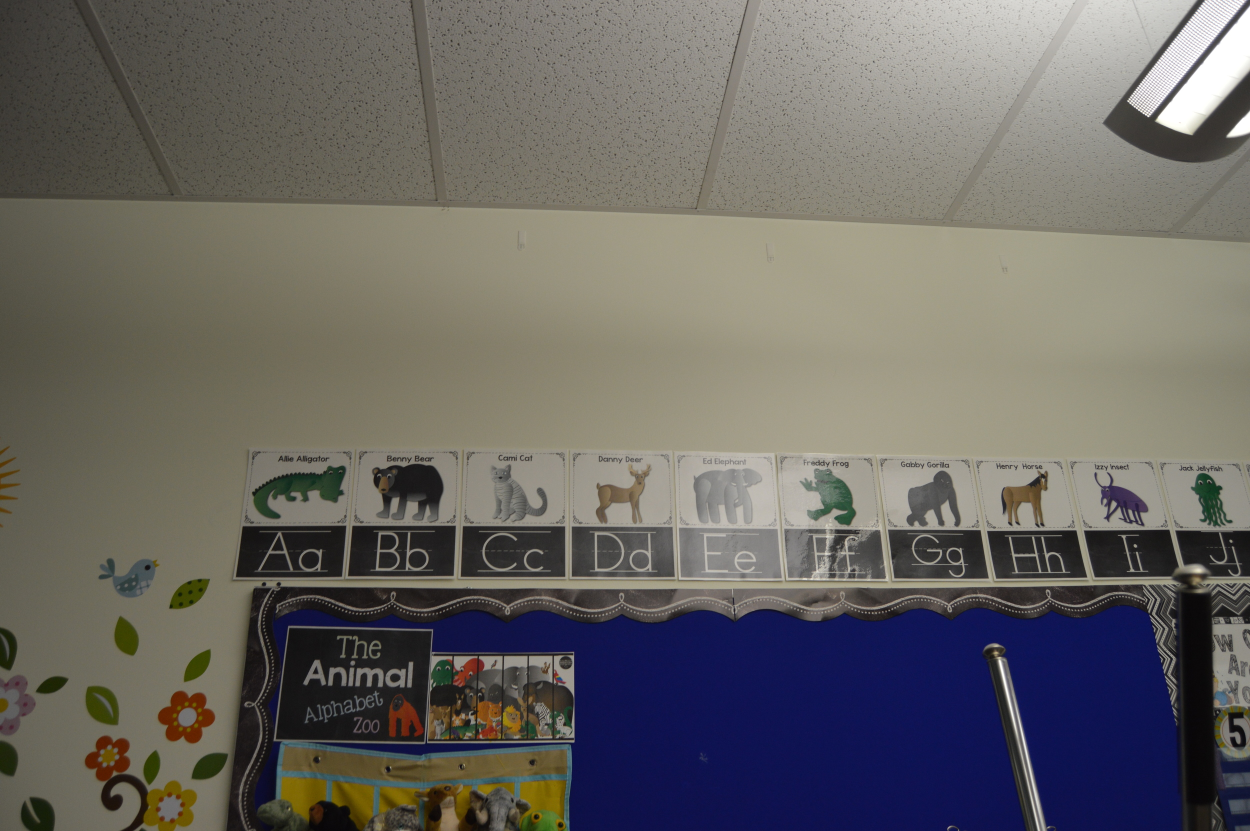 This is my anchor chart that is above my whiteboard whole group area.