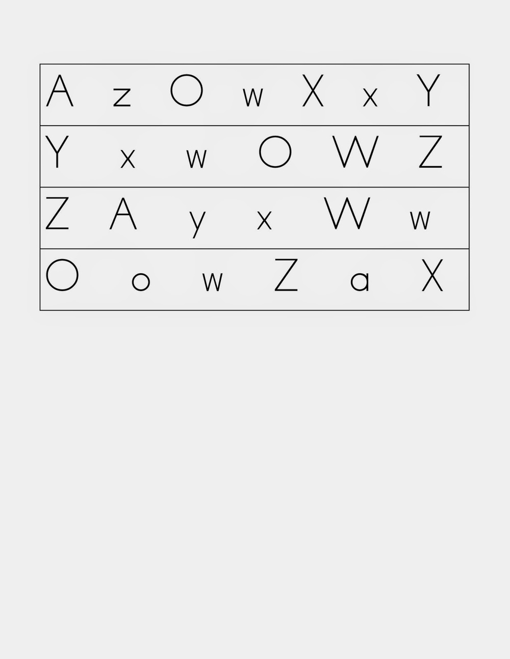 Adapted Fluency Probe