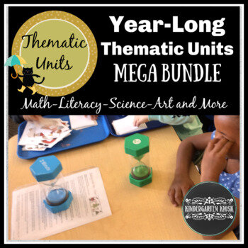 Thematic Units Bundle    42 Thematic Units  at an Incredible Savings.  These engaging, fun, and developmentally appropriate thematic units will thrill students in your classroom or homeschool while saving you valuable time!  Reach core standards in fun and active ways as you use these delightful across the curriculum, engaging lessons and activities.