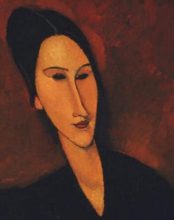 Amedeo Modigliani - detail