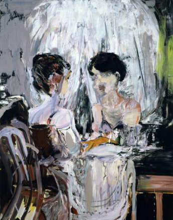 Cecily Brown - Untitled (Vanity)
