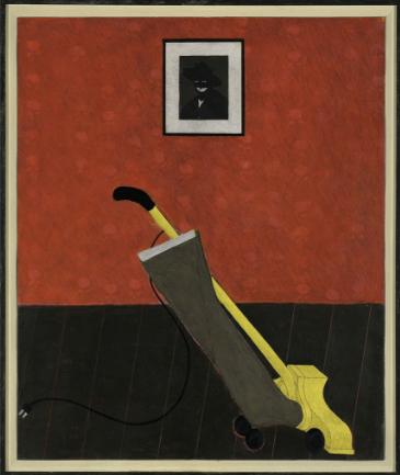 Kerry James Marshall - Portrait Of The Artist & A Vacuum
