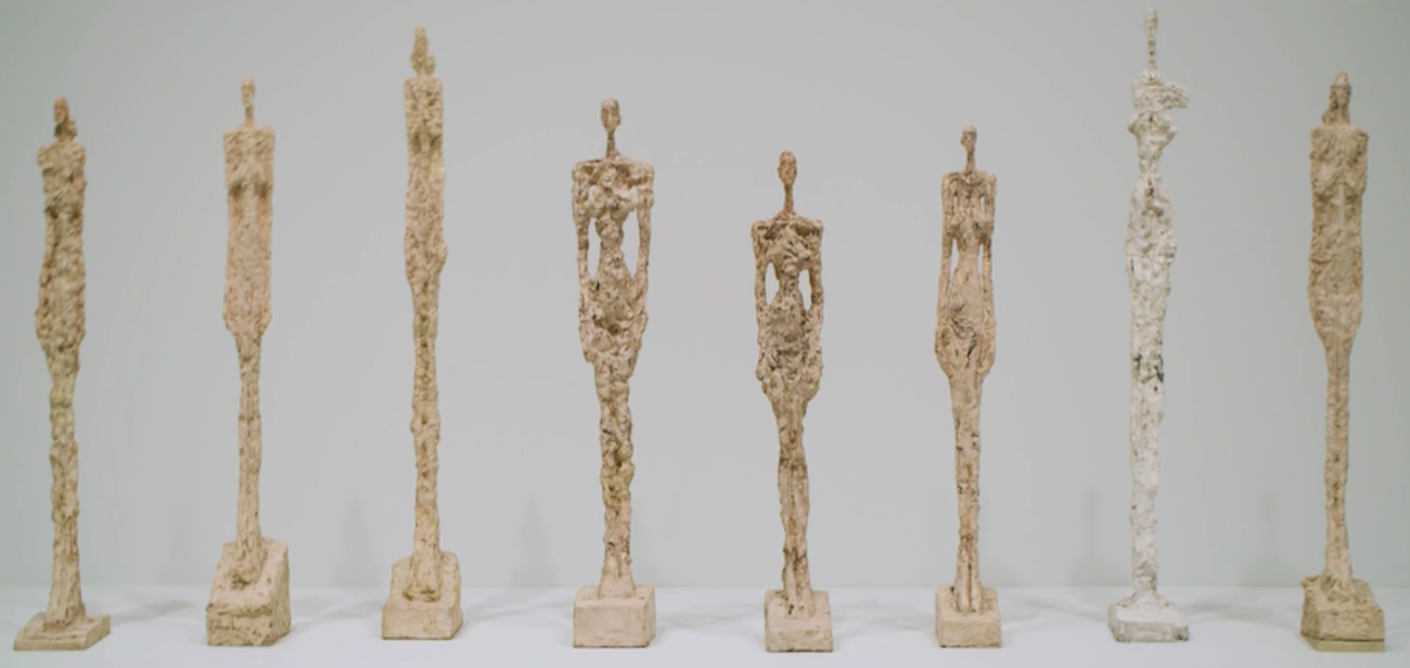 """Alberto Giacometti - """"The Woman Of Venice IX"""" - 1956"""