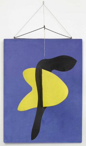 """Alexander Calder - """"Blue Panel"""" - 1936"""