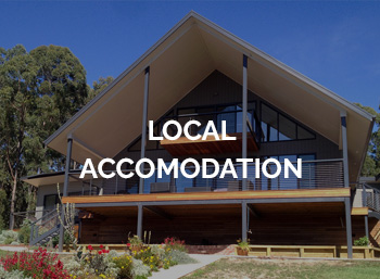Planning on staying over? - We have a list of amazing local accommodation partners if you plan on staying over to discover more of the Gippsland region.