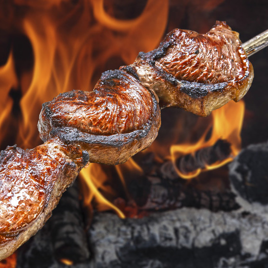 Churrasco BBQ - Try our mouth-watering Brazilian flame grilled Churrasco BBQ that we serve every Friday & Saturday night. Learn more about this cusine.