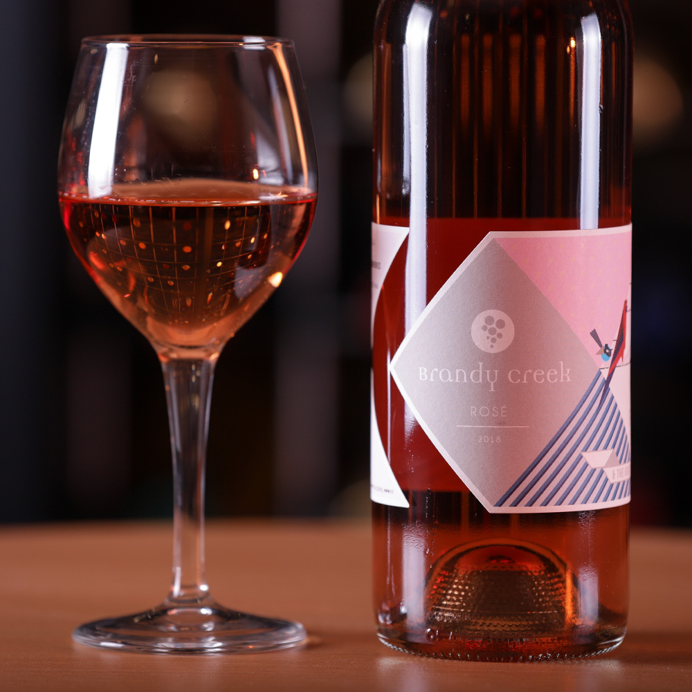 2018-Pinot Noir Rose - 100% Pinot Noir fruit, this beautiful rose wine is bursting with Rose peddles, delicate strawberry and cherry aromas lead into a generous palate of fresh ripe red fruits and firm acidity, through to a long, vibrant finish.