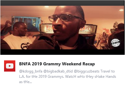 Recap Video - BNFA 2019 Grammy Weekend Recap