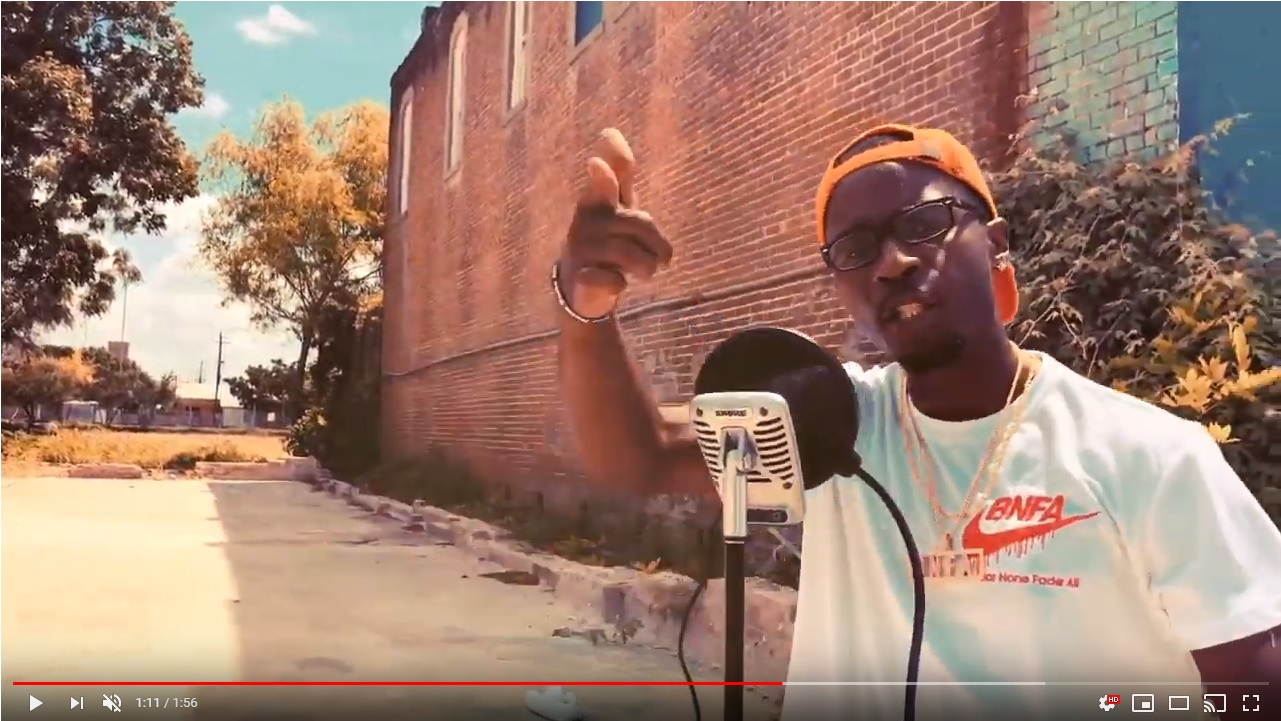KDOGG BNFA Lost Freestyles 1 - KDOGG x Coreigh Terry collab for 3 more short freestyle visuals in East Downtown Houston! (part1)
