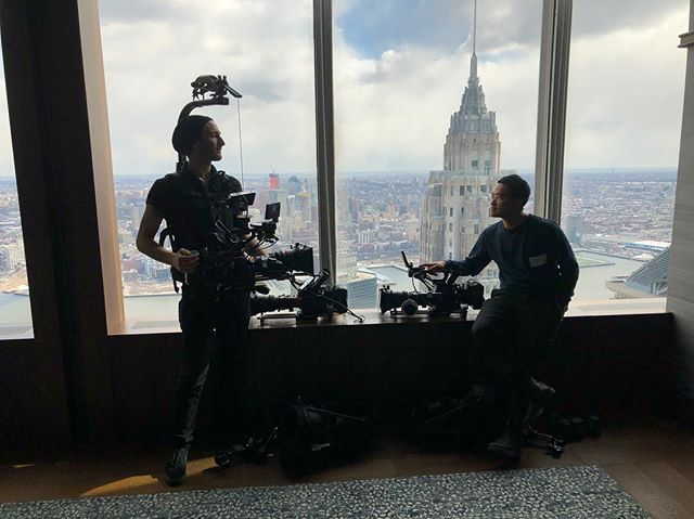 Been long enough since I've posted a camera pic? . . . . . . . . . . . . .  #camop #cameraoperator #nyc #documentary #c300 #c300mkii #canon @canonusa @canonusaprovideo #cineservo #easyrig #skyline #shillouette #cinematography #dp  @kennypjwu photo by @shlomogodderdp