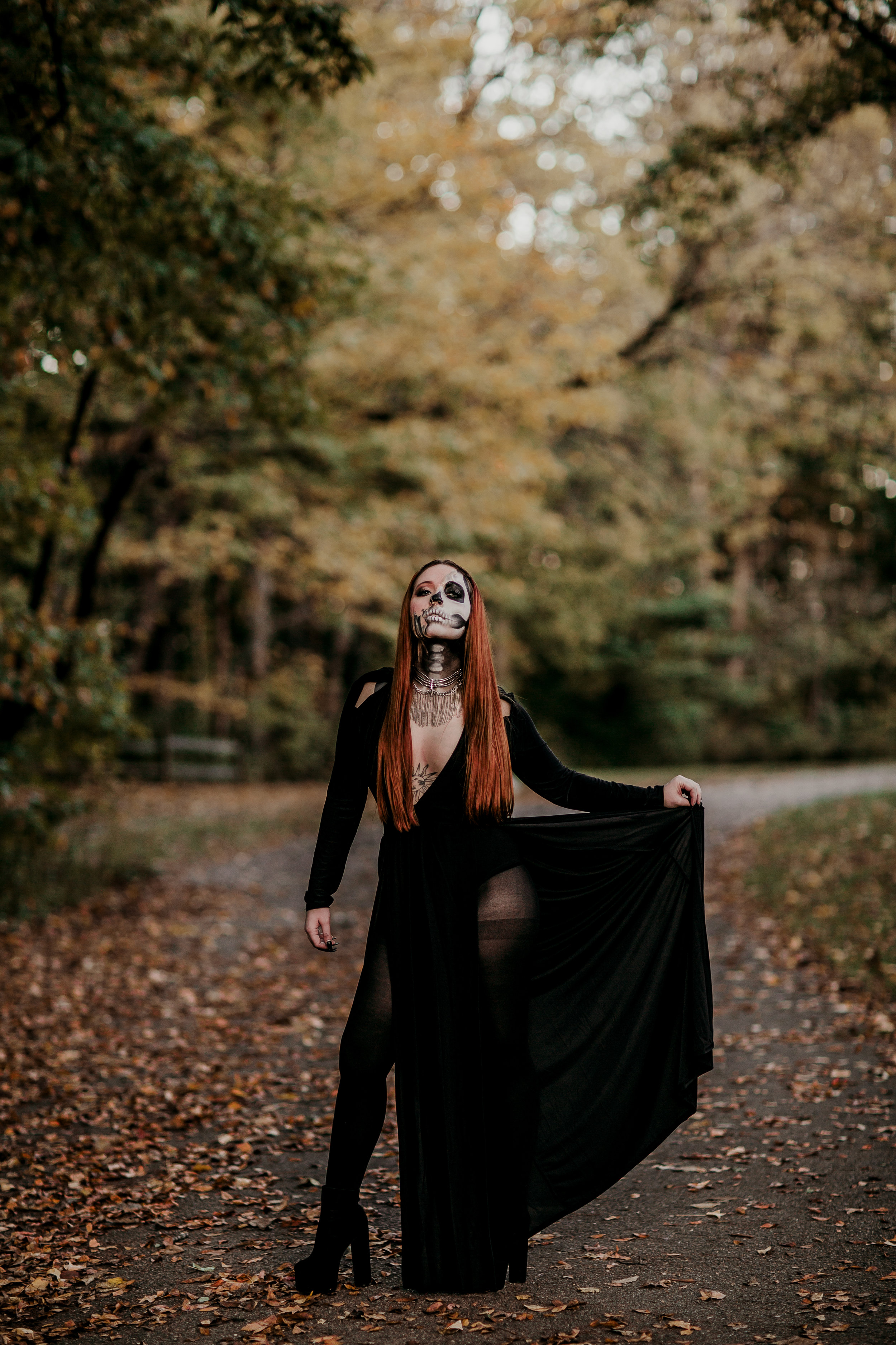 I never got around to sharing photos from this session (maybe I'll do a late Halloween post?) but this was one of my FAVORITES from October. Huge thank you to  Claire  for doing the makeup for us!! If you ever need a make-up artist, I highly recommend her!