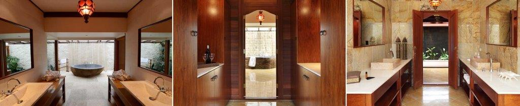 [Interiors of the Villas].
