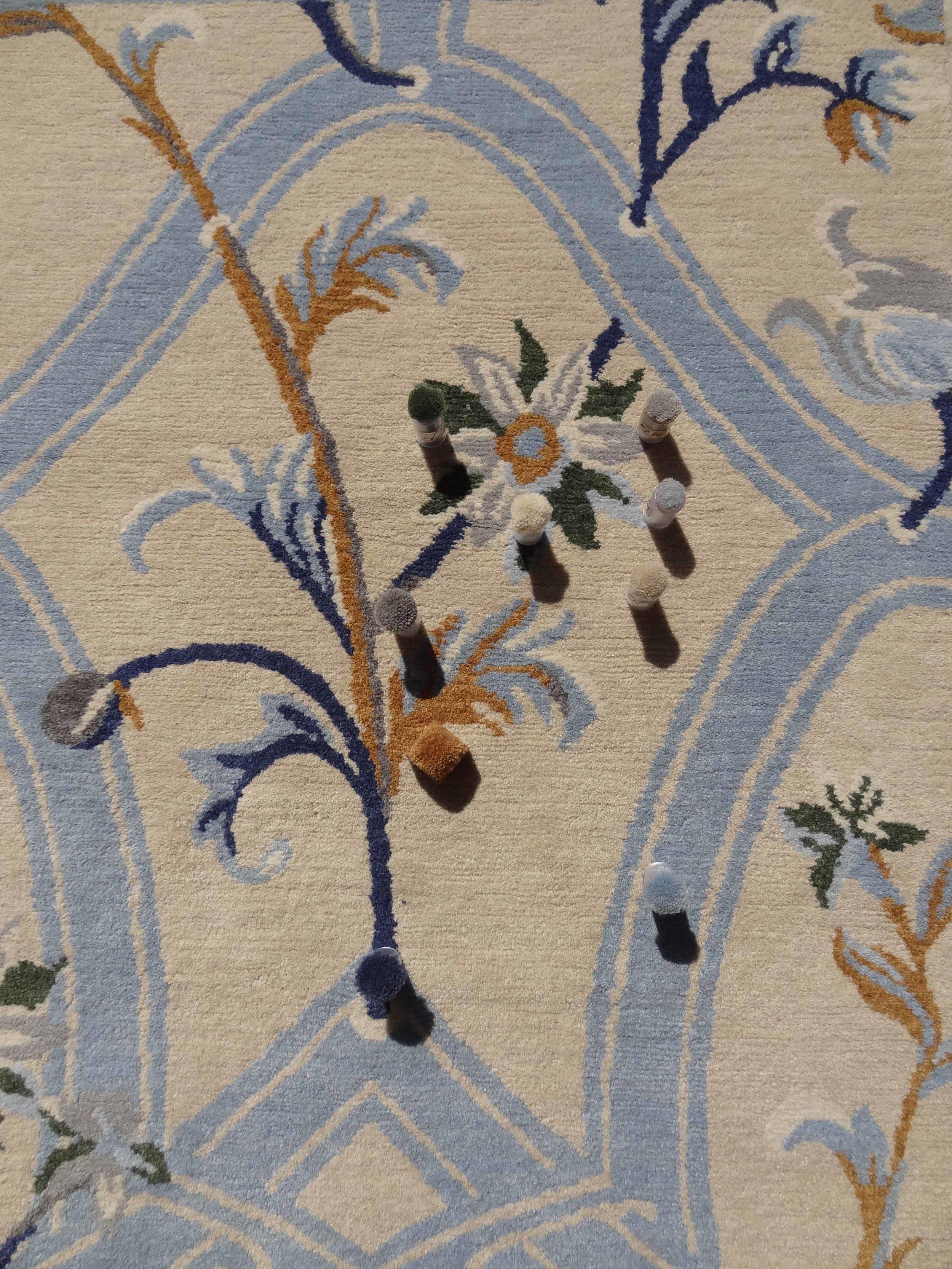 Trellis Vines, 60x90 cm, 3841 S, 100 Knots, Comparison.jpg