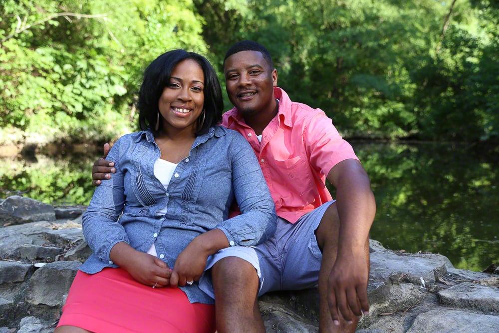 Lifestyle Couples Engagement Portrait | Lifestyle Couples Engagement Portrait | Atlanta + Dallas Lifestyle, Fashion & Business Portrait Studio and Outdoor Photographer | ksimonphotography.com | © KSimon Photography, LLC