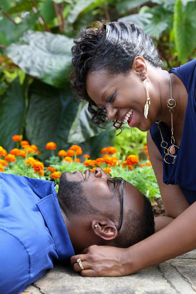 Lifestyle Couples Engagement Portrait | Atlanta + Dallas Lifestyle, Fashion & Business Portrait Studio and Outdoor Photographer | ksimonphotography.com | © KSimon Photography, LLC