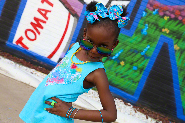 Fashion Headshot of Child | Atlanta + Dallas Fashion, Business, & Lifestyle Portrait Studio and Outdoor Photographer | ksimonphotography.com | © KSimon Photography, LLC