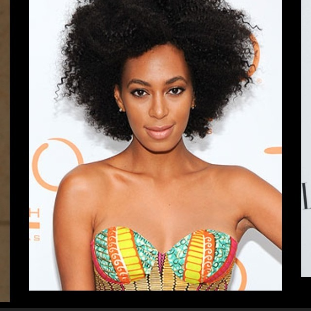 Love Solange's style! She is definitely one to watch for fabulous style trends and ideas.   - Kimberly   #fashion #natural #beauty #dopeness