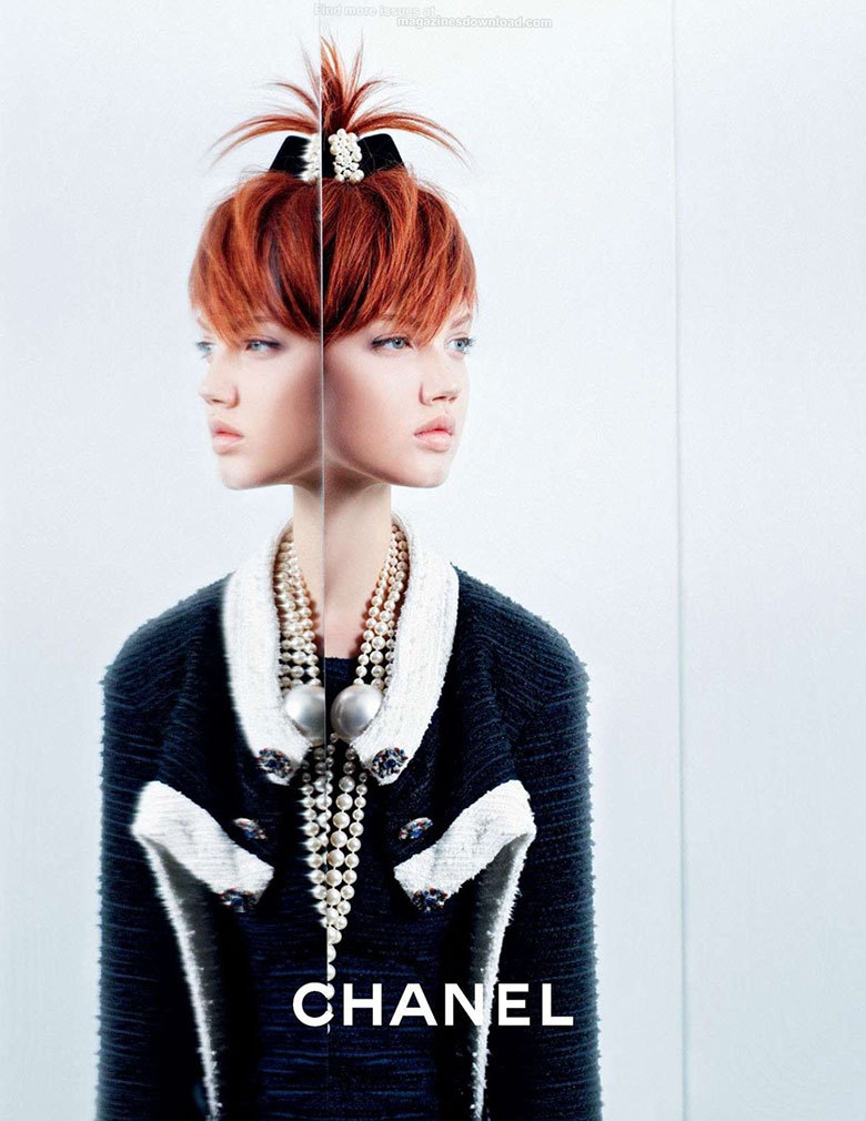 Stylish!♥this!   - Kimberly   Lindsey Wixsonby Karl Lagerfeld for Chanel, Spring/Summer 2014.