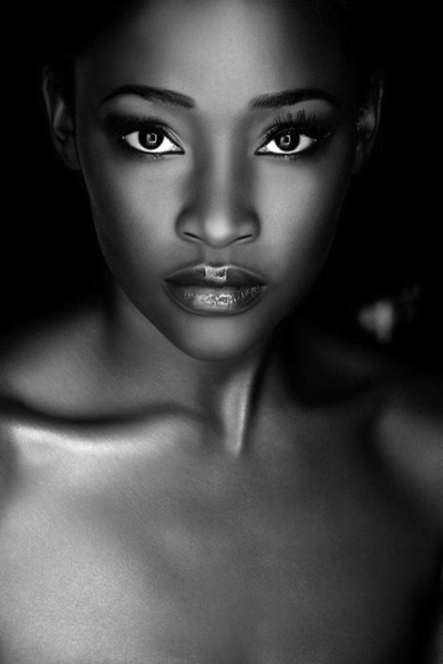 This is such a beautiful picture. Breathtaking…   - Kimberly   British model Hannah Osunsina.