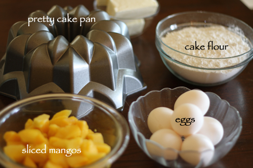 Mexican-Mango-Cake-Ingredients