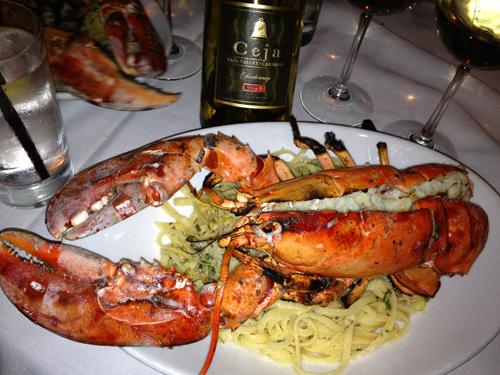 Lobster + Ceja Chardonnay