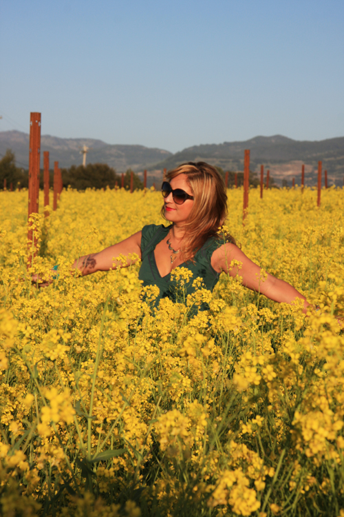 dalia-ceja-mustard-flowers-napa-valley-happy