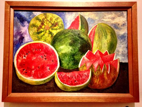 "One of my favorite paintings, ""Viva La Vida"" -1954"