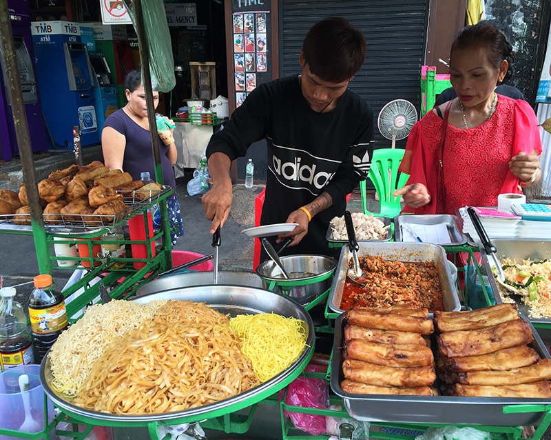 Street food in Khao San Road
