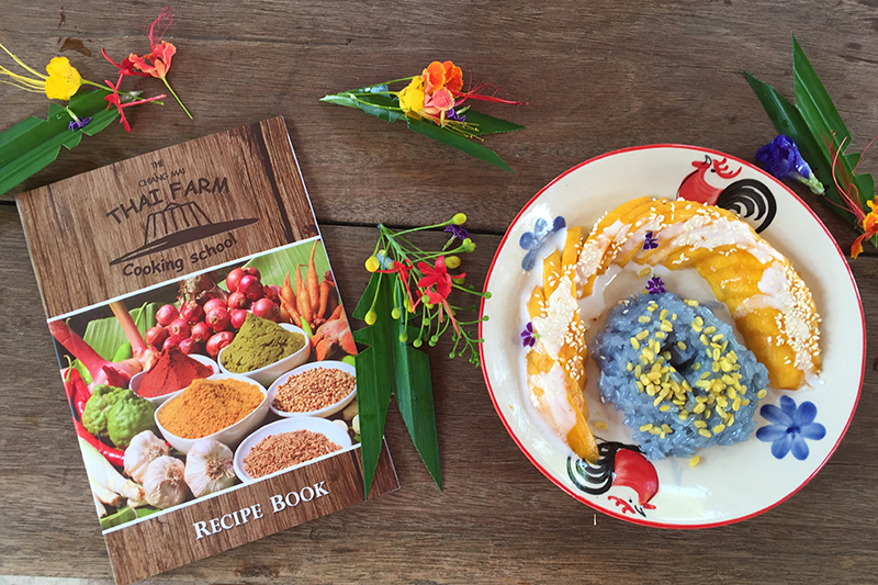 Chiang Mai Thai Farm Cookbook + Homeade Sticky Mango Rice