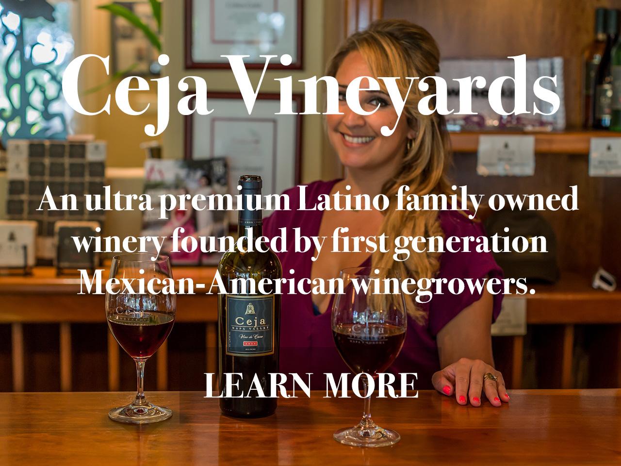 Ceja Vineyards Wine
