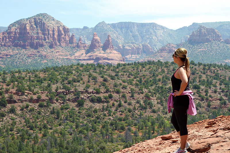 Hiking Cathedral Rock Trail