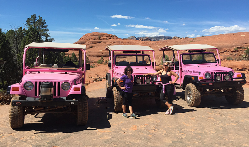 You can't miss Sedona's majestic crimson red rocks, mystical lore and tranquil beauty with Pink Jeep Tours!