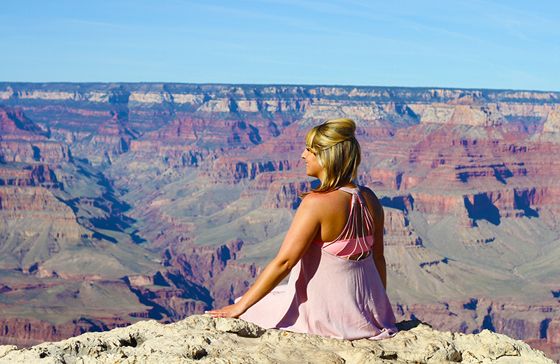 The Grand Canyon. Taking it all in. Magical place.