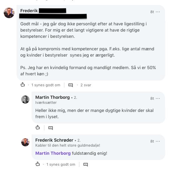 Nyibestyrelsen.dk - Martin Thorborg og nboard om kvindelige kandidater - Laura Vilsbaek - Frederiks kommentar.png