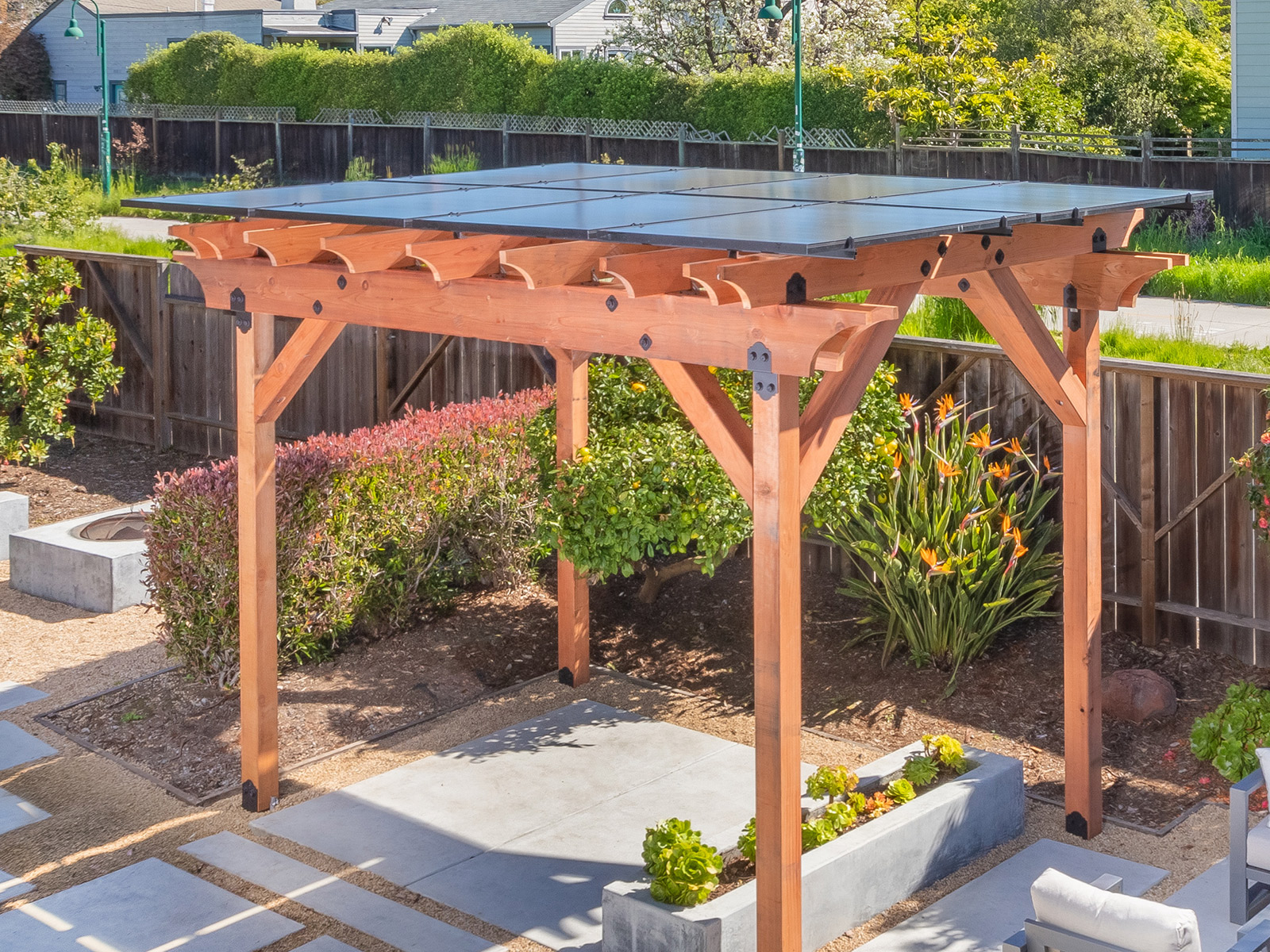 Shade Power, Pergola, CA