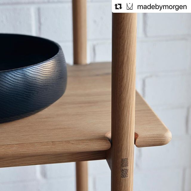 #Repost @madebymorgen with @make_repost ・・・ Oak shelving unit and @ontic.design ebonised bowl. Shot 📷 by @tomross.xyz for @monoclemagazine