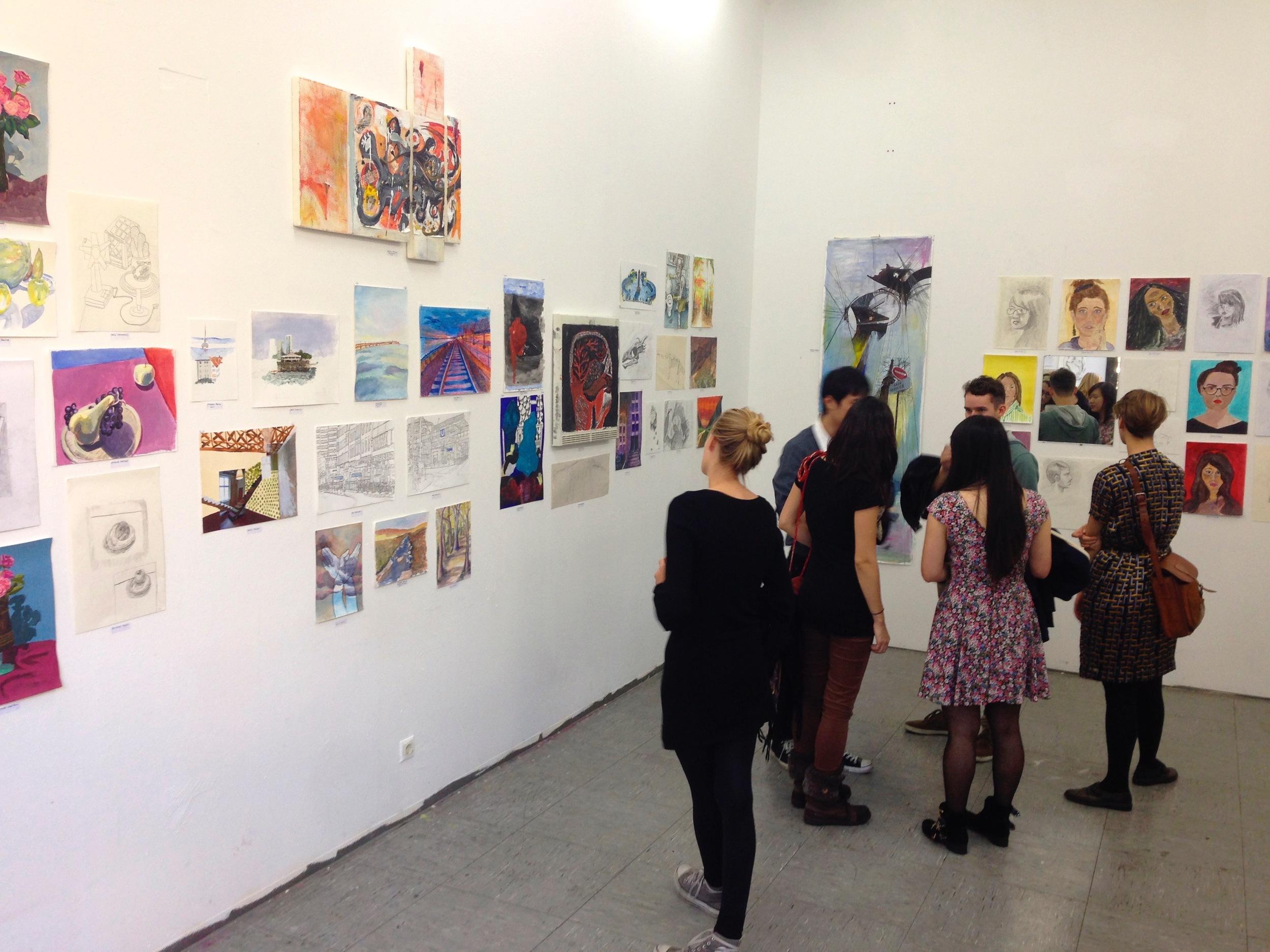Berlin Drawing Room Exhibition