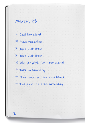All images and content -  bulletjournal.com