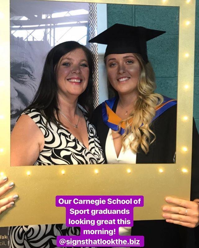 Some selfie frames we did for #leedsbeckett! Congrats to everyone graduating today! #selfie #selfieframes #lightup #lightupselfieframe