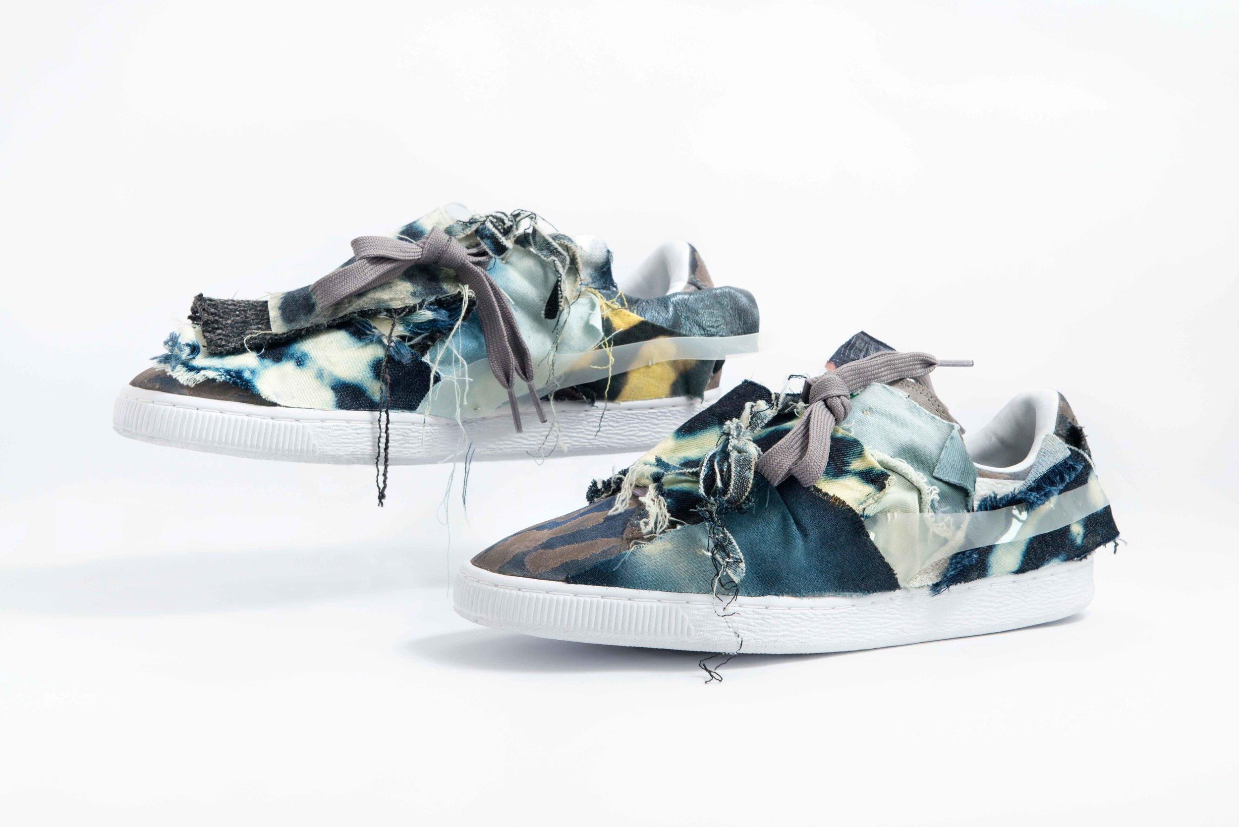 Puma Suede 50th Anniversary - Seafoam | Custom Shoes