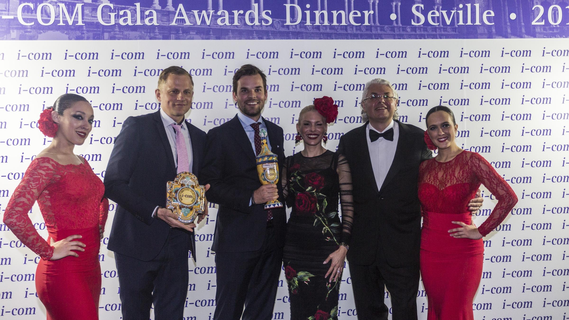 I-COM Data Venture Challenge Winner - Seville 2016